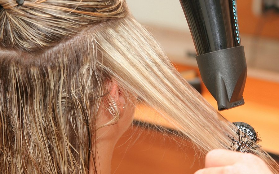 Home Styling Tips:   How to Dry Your Hair Straight